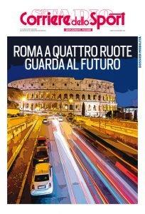 Copertina del Corriere dello Sport